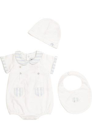 Tartine Et Chocolat Baby Set aus Body, Lätzchen und Mütze