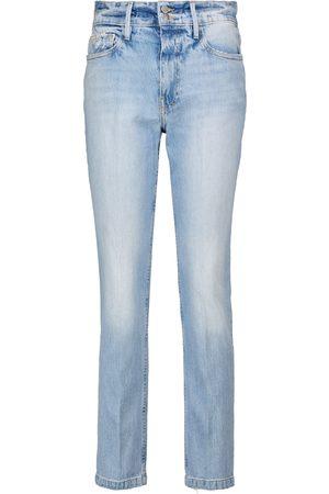 Frame High-Rise Jeans Le Sylvie Slender