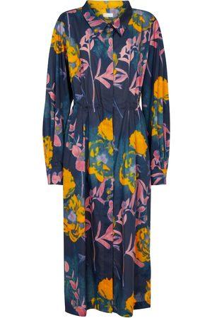 DRIES VAN NOTEN Hemdblusenkleid aus Baumwolle