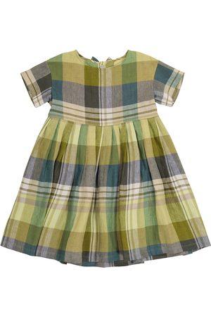 Il gufo Kleid aus Leinen