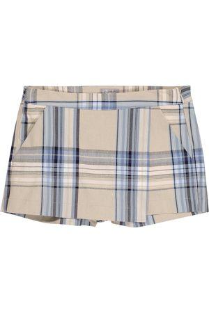 Il gufo Shorts aus einem Baumwollgemisch
