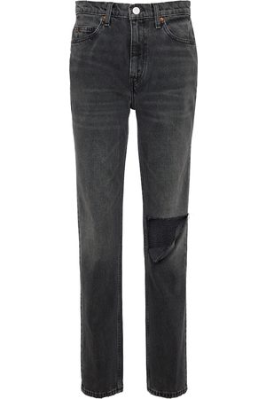 RE/DONE Mid-Rise Slim Jeans