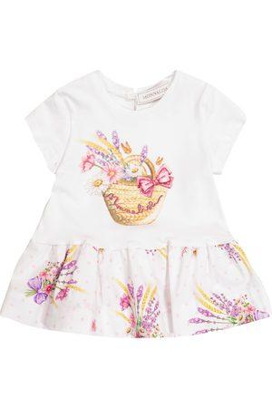 MONNALISA Baby Kleid aus Baumwoll-Jersey