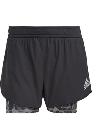 adidas Damen Shorts - P.BLUE 2IN1 SUPERNOVA AEROREADY Funktionsshorts Damen