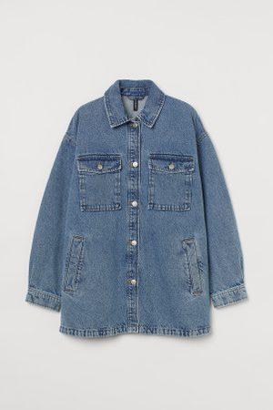 H&M Oversized Blusenjacke