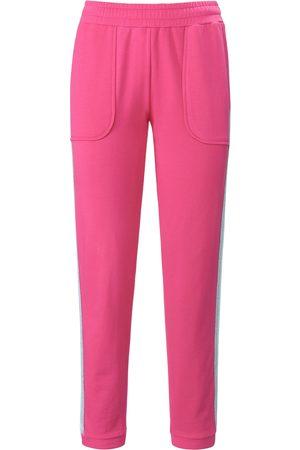 Mybc Damen Jogginghosen - Knöchellange Sweathose pink