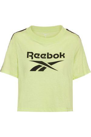 Reebok Damen Tops & Shirts - Tape Pack Croptop Damen