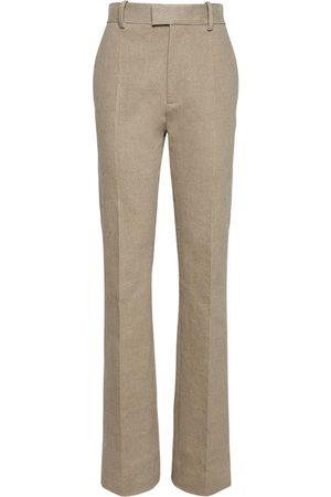 Bottega Veneta Damen Hosen & Jeans - Hose Aus Stretch-leinencanvas