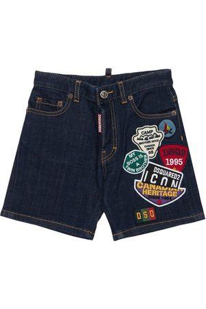 Dsquared2 Shorts Aus Stretch-baumwolldenim