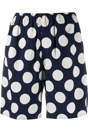 Ami Damen Shorts - Polka-dot print shorts