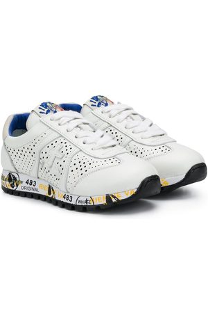 Premiata Lucy-B perforated lace-up sneakers