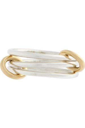 SPINELLI KILCOLLIN Ring Solarium SG aus 18kt Gelbgold und Sterlingsilber