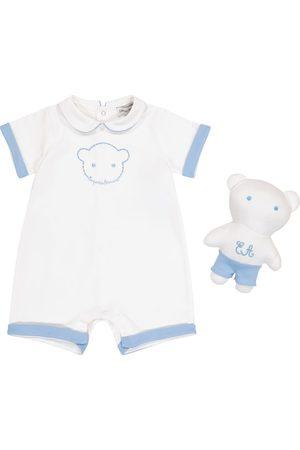 Emporio Armani Baby Set aus Body und Teddybär