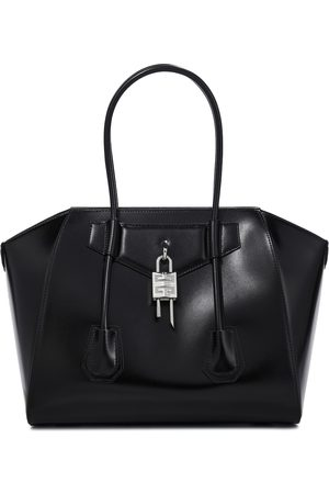Givenchy Tote Antigona Lock Medium aus Leder