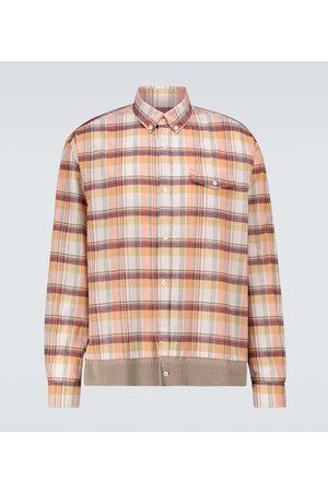 UNDERCOVER Kariertes Hemd aus Baumwolle