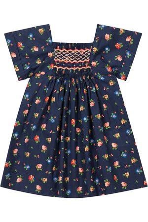 BONPOINT Baby Kleid Pais aus Baumwolle