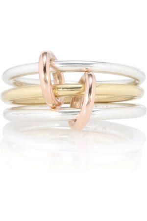 SPINELLI KILCOLLIN Ring Solarium Silver aus Sterlingsilber mit 18kt Gelb- und Roségold