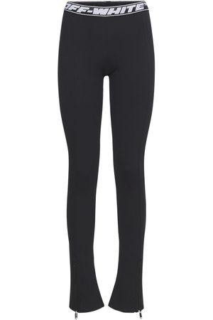 OFF-WHITE Damen Leggings & Treggings - Athleisure-leggings Aus Stretch-jersey