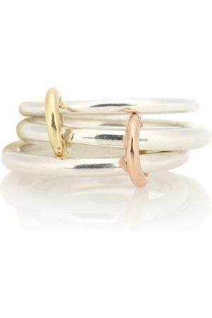 SPINELLI KILCOLLIN Ring Daphne aus Sterlingsilber mit 18kt Gelb- und Roségold