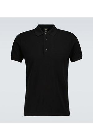 Fendi Poloshirt aus Baumwolle