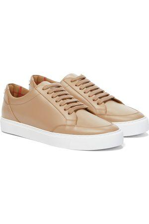 Burberry Sneakers New Salmond aus Leder