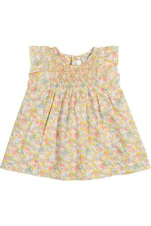 BONPOINT Baby Kleid Calais aus Baumwolle