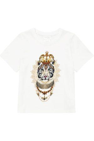 Camilla Bedrucktes T-Shirt aus Baumwolle