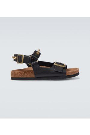 UNDERCOVER Verzierte Sandalen aus Leder