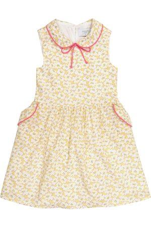 PAADE Bedrucktes Kleid Marin aus Baumwolle