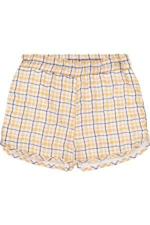 PAADE Karierte Shorts Dana aus Chiffon