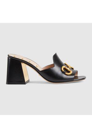 Gucci Damenpantolette mit Horsebit
