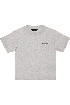 Balenciaga Damen Shirts - T-shirt Aus Bio-baumwolle