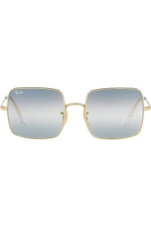 Ray-Ban Rectangle in - Blue. Size all.