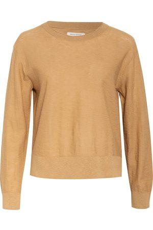 Marc O' Polo Damen Strickpullover - Pullover beige