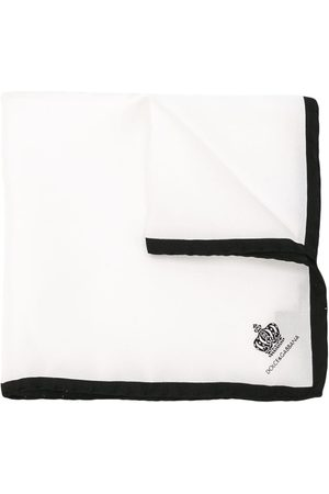 Dolce & Gabbana Crown print pocket square
