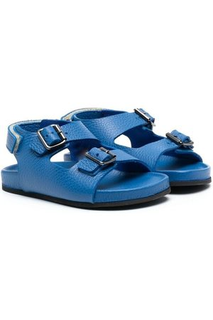 Gallucci Kids Jungen Sandalen - Double-buckle strap sandals