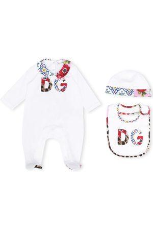 Dolce & Gabbana Floral logo pajamas