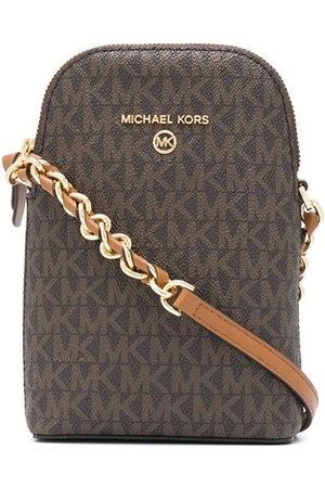 Michael Kors Small logo-print crossbody bag
