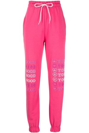 IRENEISGOOD Heart-print track pants