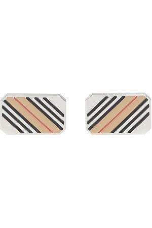Burberry Herren Manschettenknöpfe - Icon stripe cufflinks