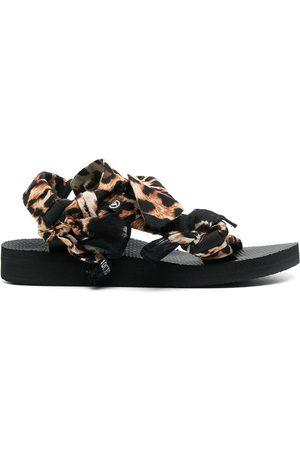 Arizona Love Trekky Choux bandana-trimmed sandals
