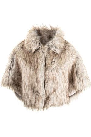 Unreal Fur Damen Jacken - Nord faux-fur cropped cape