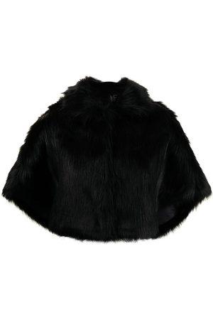 Unreal Fur Damen Jacken - Nord faux-fur cape