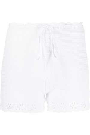 RED Valentino Knitted cotton shorts