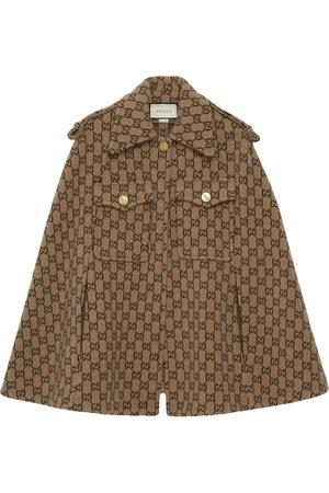 Gucci Damen Jacken - Monogram cape
