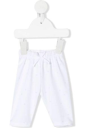 KNOT Baby Leggings & Treggings - Bow-detail organic-cotton leggings