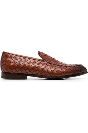 Scarosso Vittorio interwoven loafers
