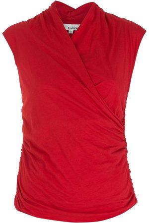 AMIR SLAMA Draped blouse