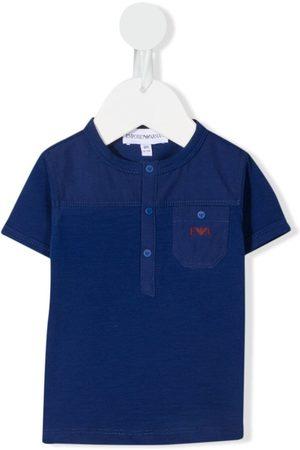 Emporio Armani Poloshirts - Logo-embroidered polo shirt