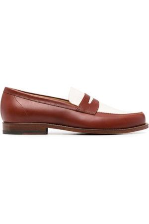 Scarosso Herren Halbschuhe - Havana colour block loafers